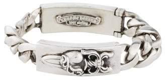 Chrome Hearts Dagger & Cross ID Bracelet