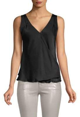 Vince Sleeveless Overlay Top