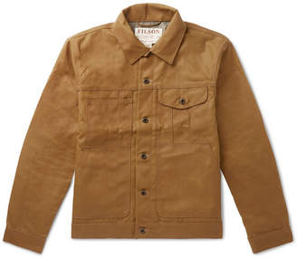 Filson Short Lined Cruiser Waxed-Cotton Jacket