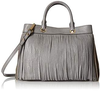 Milly Essex Fringe Tote Top Handle Bag