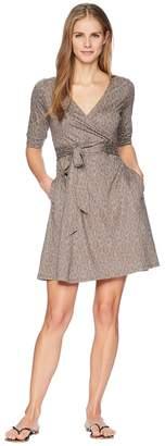 Toad&Co Cue Wrap Cafe Dress Women's Dress