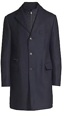 Corneliani Men's Wool Overcoat