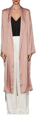 Juan Carlos Obando Women's Washed Satin Long Robe