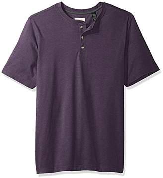 Wrangler Authentics Men's Big & Tall Short Sleeve Henley Tee