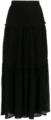 Nk crochet long skirt