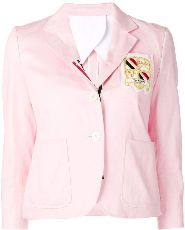 Patch Pockets Grosgrain Sport Coat