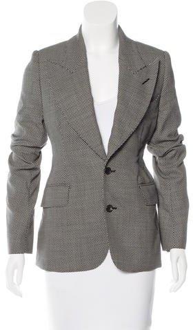 Tom Ford Wool Structured Blazer