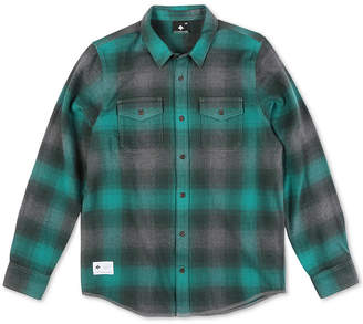 Lrg Men Interference Flannel Shirt