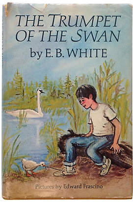 One Kings Lane Vintage The Trumpet of the Swan - 1st Ed