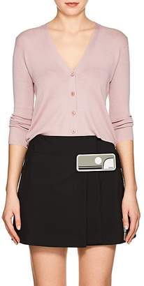 Prada Women's Crop Cashmere-Silk Cardigan