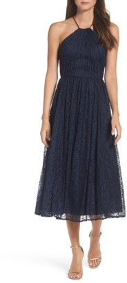 Women's Vera Wang Lace Midi Dress $298 thestylecure.com