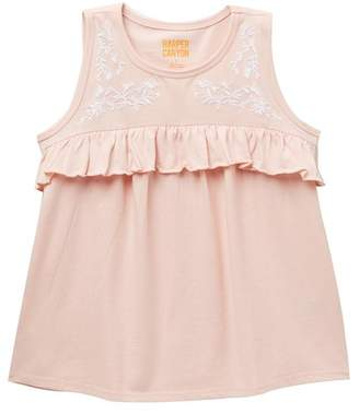 Harper Canyon Embroidered Sleeveless Top (Little Girls & Big Girls)
