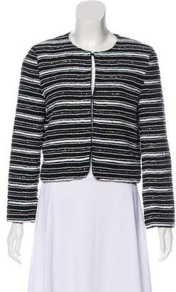 Alice + Olivia Long Sleeve Beaded Jacket