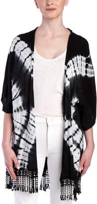 Sloane Rouge Tie Dye Kimono