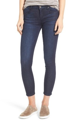 Petite Women's Kut From The Kloth Brigitte Stretch Skinny Crop Jeans $89 thestylecure.com