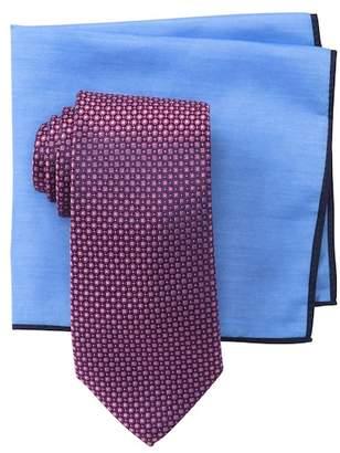 Ted Baker Grid Neat Tie Set