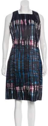 Tomas Maier Printed Sheath Dress