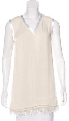 Calvin Klein Collection Sleeveless Knit Top