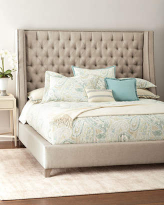 Massoud Missy Tufted King Bed