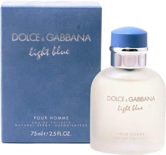 Dolce & Gabbana Light Blue Pour Homme Eau de Toilette, 2.5 oz.
