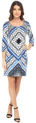 Jessica Simpson Printed Ity Shift Dress Women's Dress