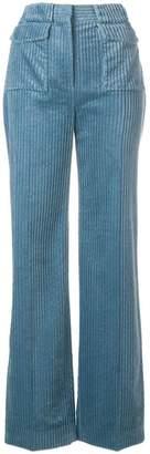 Victoria Beckham Victoria flared corduroy trousers