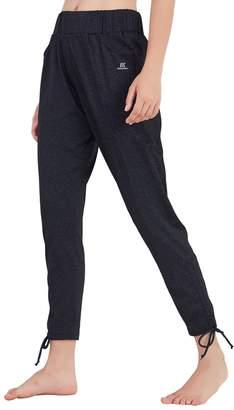 Matymats Women's Sports Harem Sweat Pant Jersey Pocket Jogger