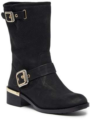 Vince Camuto Windy Leather Mid Boot