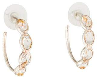 Ippolita Rock Candy Four Stone Quartz Hoop Earrings