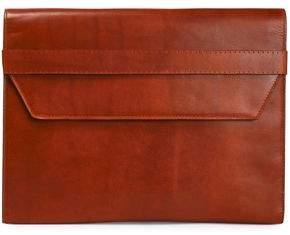 Maison Margiela Brushed-Leather Clutch