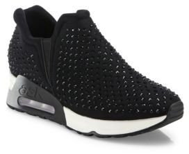 Ash Lifting Studded Sneakers $225 thestylecure.com