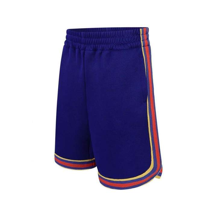 GUCCIBoys Blue Technical Jersey Shorts