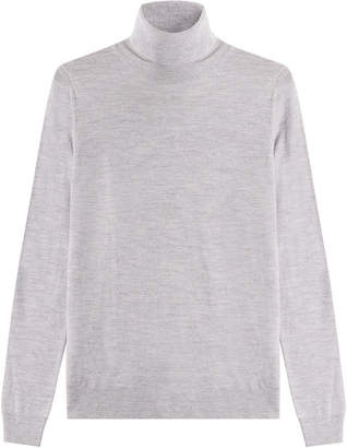 HUGO Virgin Wool Turtleneck Pullover