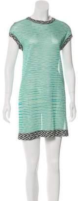 Missoni Printed Semi-Sheer Dress