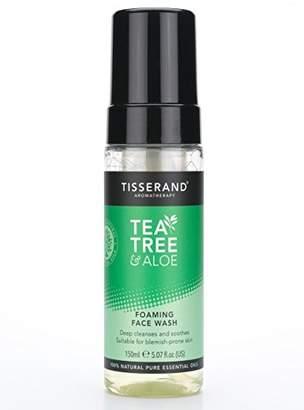 Tisserand Aromatherapy U.K. Tea Tree and Aloe Foaming Face Wash