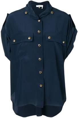 Chloé chest pocket blouse