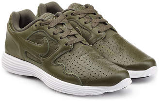 Nike Perforated Leather Sneakers