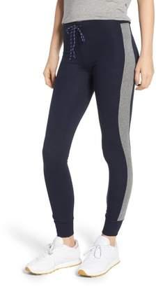 Sundry Colorblock Skinny Sweatpants