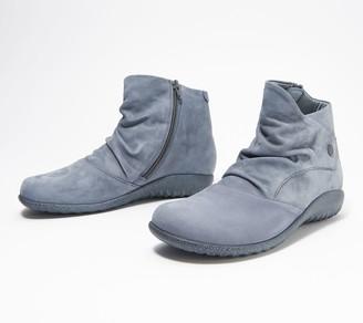 Naot Footwear Nubuck Leather Ankle Boots - Kahika