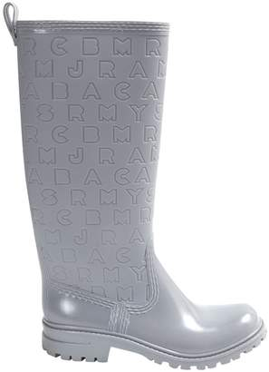 Marc by Marc Jacobs Grey Plastic Boots