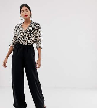 Vero Moda Tall Paperbag High Waist Wide Leg Pants