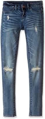 Blank NYC [BLANKNYC] Big Girl's DISTRESSED SUPER SKINNY Pants