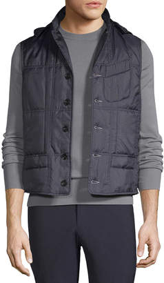 Engineered For Motion Hooded Quilt Vest