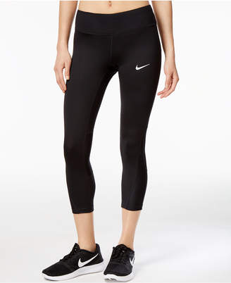 Nike Power Racer Cropped Running Leggings $55 thestylecure.com
