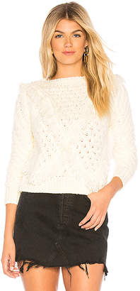 Majorelle Cable Knit Sweater