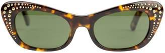 Supreme Brown Plastic Sunglasses