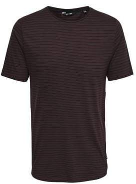 ONLY & SONS Striped Long Cotton Tee