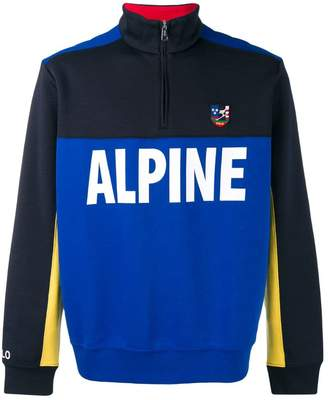 Polo Ralph Lauren Alpine zipped sweatshirt