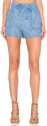 Soft Joie Mireille Tie Front Short $148 thestylecure.com