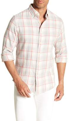 Grayers Front Button Plaid Print Regular Fit Woven Shirt